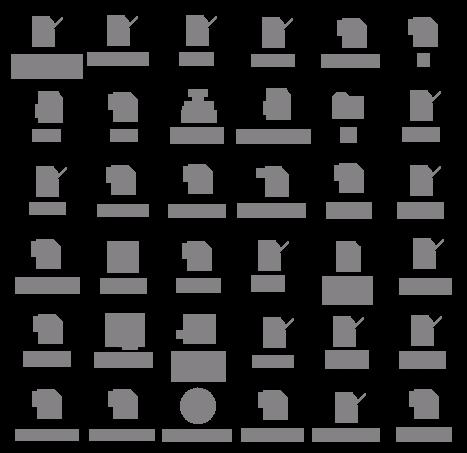 à noite todos os ícones são pardos 2008