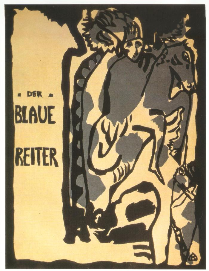 Couverture de l'Almanaque Der Blaue Reiter