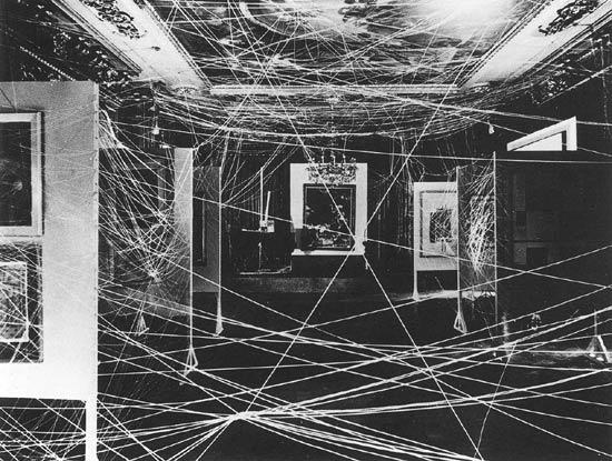 Marcel Duchamp, Sixteen Miles of String (1942).