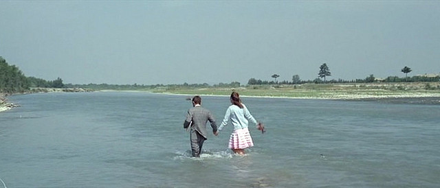 Jean-Luc Godard, Still from Pierrot le fou (1965).