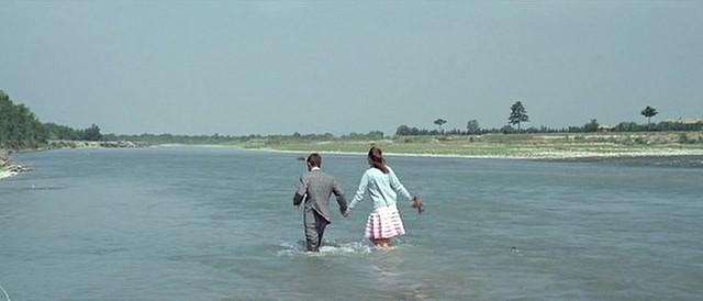 Jean-Luc Godard, Still from Pierrot le fou (1965).