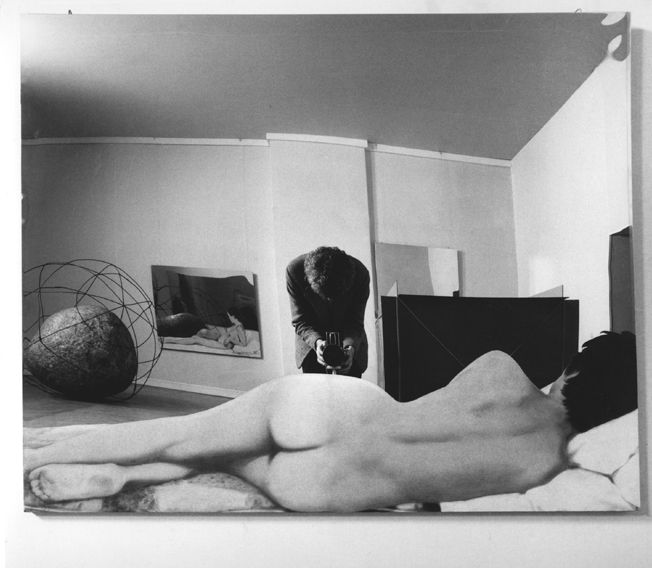 Ugo Mulas, Pistoletto (1970).