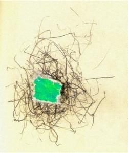 Ilustração de um dédalo passevite no meu caderno
