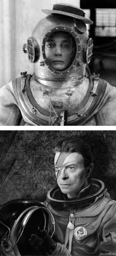 Keaton e Bowie: ocean and space oddities