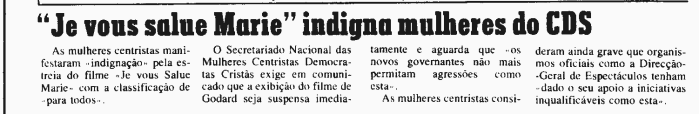 Diário de Lisboa, 17 de Outubro de 1985