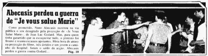 Diário de Lisboa, 1 de Julho de 1985