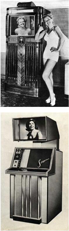 Imagens promocionais de Soundies e Scopitones
