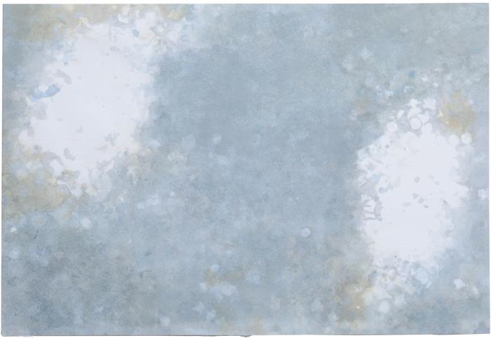 encre et confettis sur papier (0,2m x 0,29m)