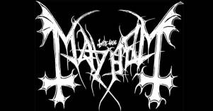 FIGURA 125 - Logo de Mayhem, banda de black metal (fundada em 1984 em Oslo, Noruega)