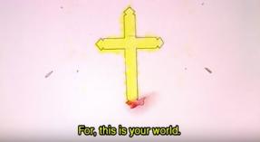 "FIGURA 152 - Série de Anime japonesa ""Neon Genesis Evangelion"""