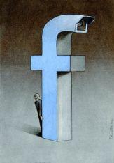 FIGURA 232b - Ilustração do polaco Pawel Kuczynski em sátira ao Facebook