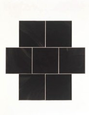 "FIGURA 25 - ""Double Black Cross"", grafismo de Imi Knoebel 1988"