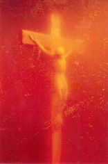 """FIGURA 27 - """"Piss Christ"""", de Andrés Serrano (1987)"""