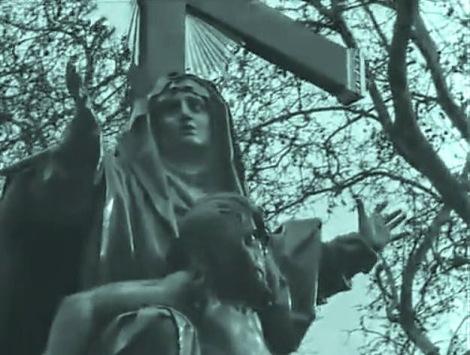 """FIGURA 40 - Still do filme """"Fuego en Castilla"""", de José Val del Omar (1958-60)"""