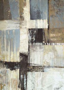 "FIGURA 48 - ""Dark Light"", de Brenda Holzke - técnica mista"