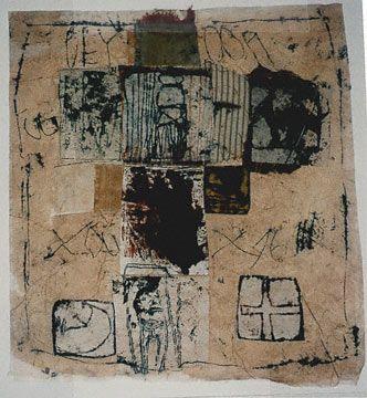 """FIGURA 54 - """"Untitled (C76 018)"""", de Hannelore Baron (1976) - técnica mista"""