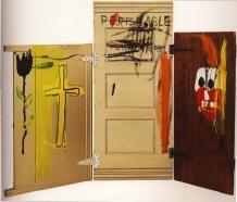 """FIGURA 56 - """"Gravestone"""", peça de Jean-Michel Basquiat (1987)"""