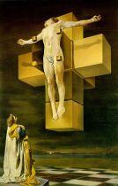 "FIGURA 77 - ""Crucifixion"", pintura de Salvador Dalí (1954)"