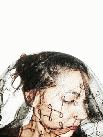 Auto-retrato, fotografia, 30x40, s/acrílico.